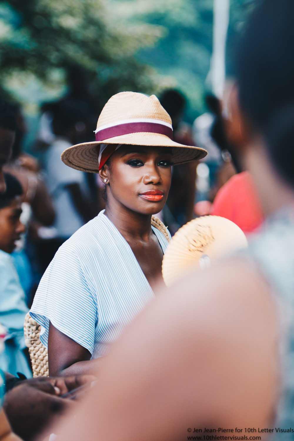 best style at curlfest shot by top blogger natural hair hat street style